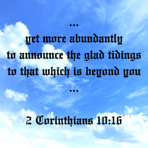 2 Corinthians 10:16