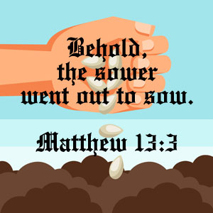Matthew 13:3